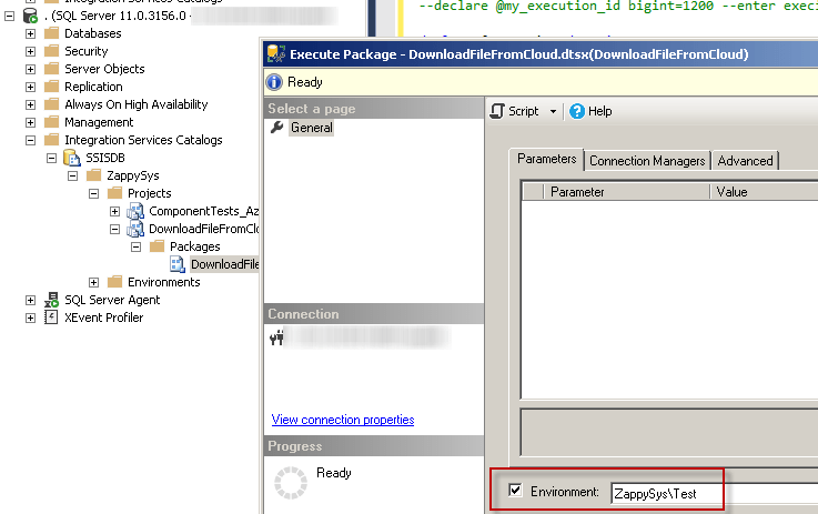 Monitor, Run SSIS Package using Stored procedure / T-SQL | ZappySys Blog