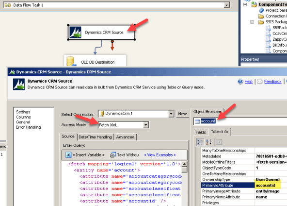 Find Primary Key for Dynamics CRM Table