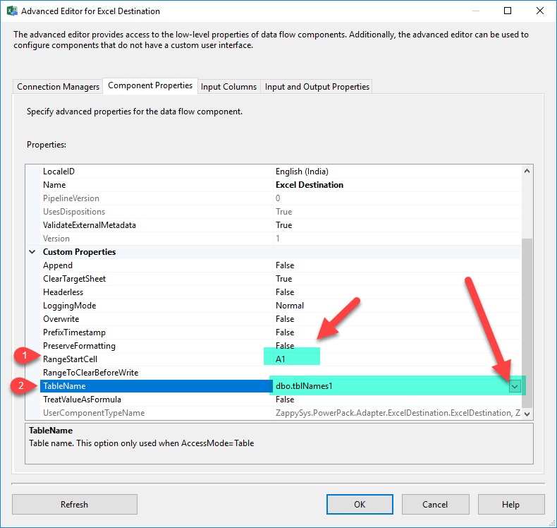 Create Excel File in SSIS (Read from JSON / XML) | ZappySys Blog