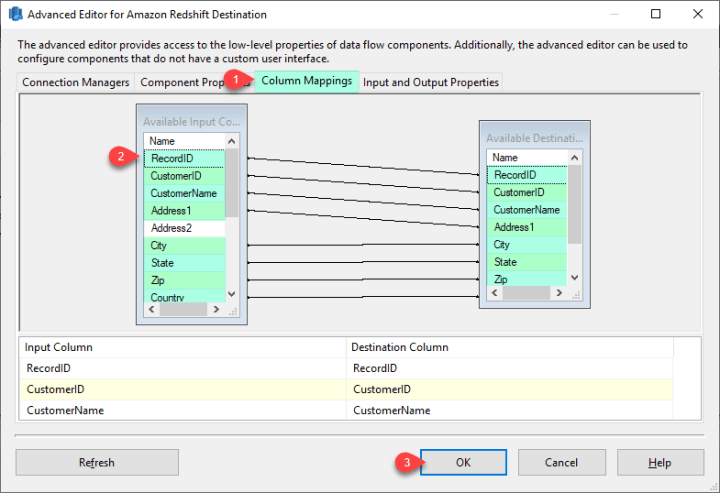How to Read / Write Amazon Redshift Data in SSIS | ZappySys Blog