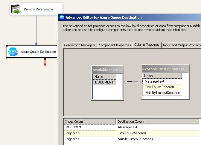 Configure Column Mappings