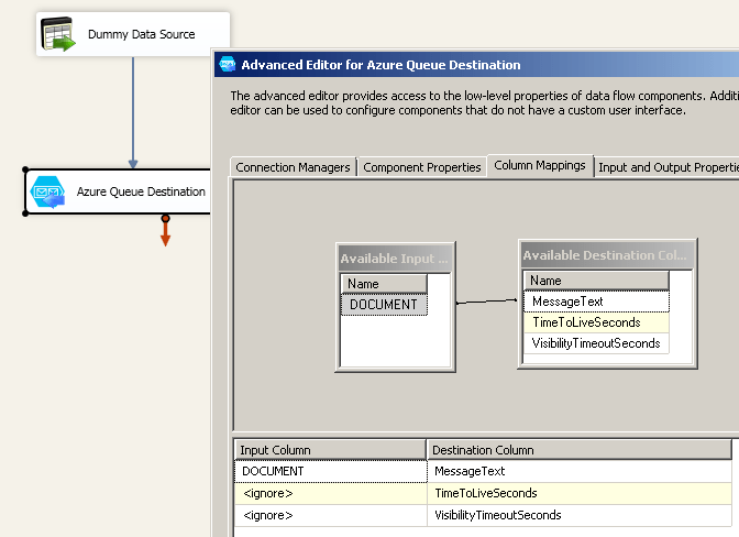 SSIS Azure Queue Storage Destination - Visual Studio Marketplace