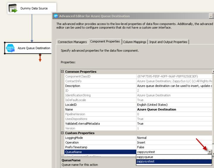 Configure Component Properties