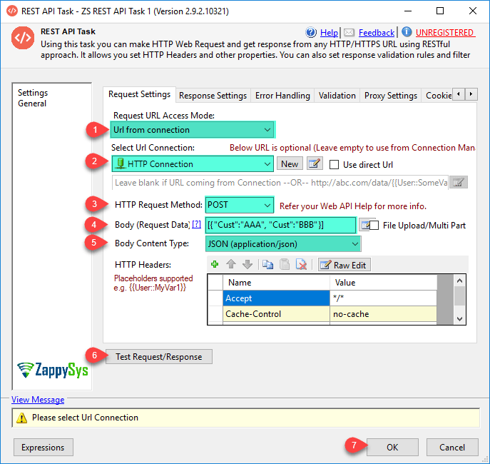 Using HTTP Connection in SSIS REST API Task to Download Files or Other Data