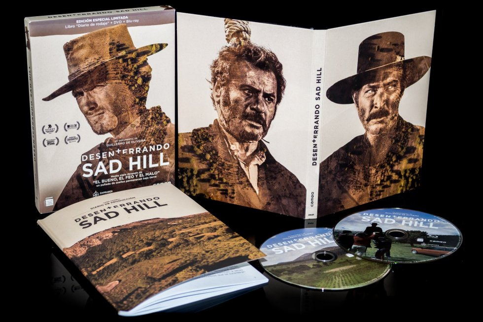 Desenterrando Sad Hill DVD Bluray