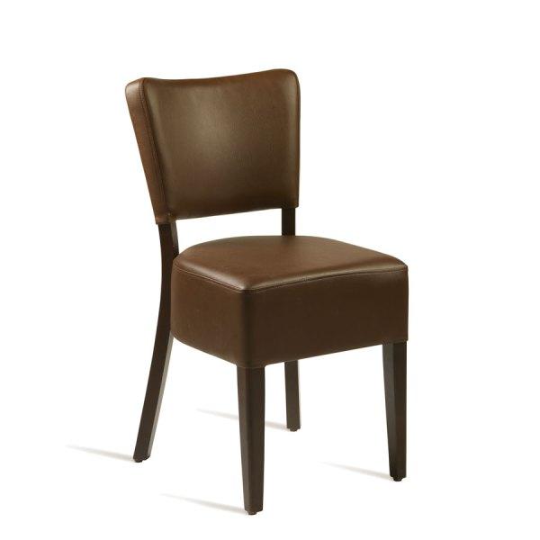 CLUB Side Chair - ZA.389C - Wenge - Brown - Zap Trading