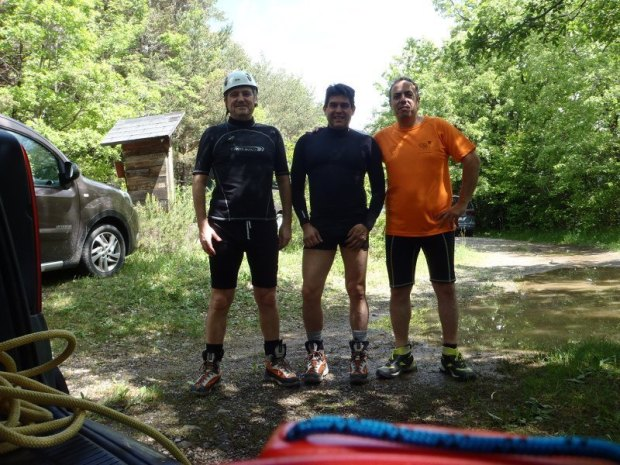 2-06-2018 Miguel, Santi y Mario