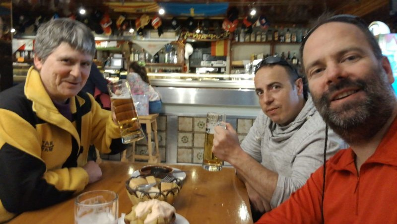 Cerveza en Restaurante La Estrella en Villanua