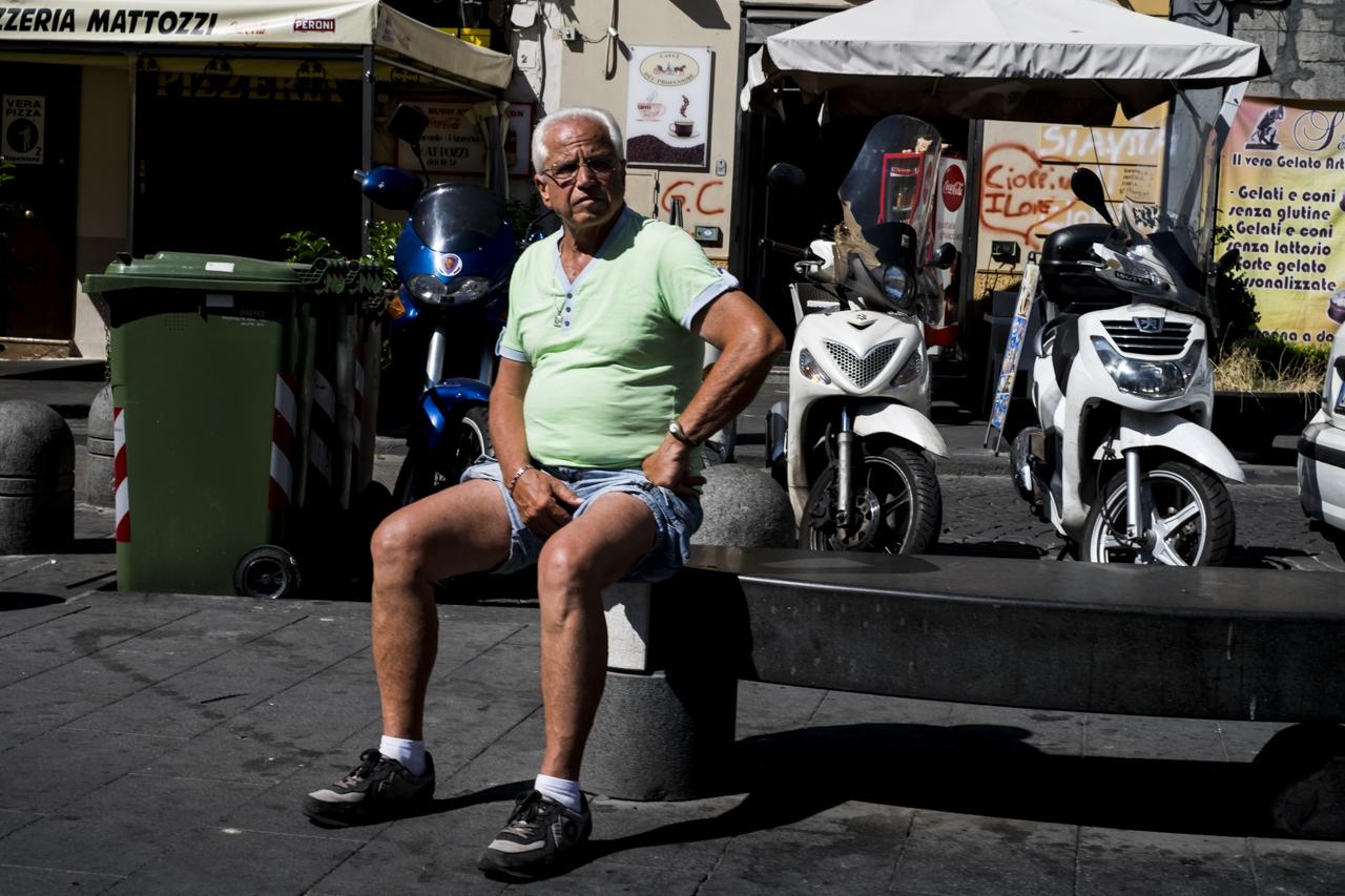 Streetphotography Napoles, Napoli / Zaragoza Walkers