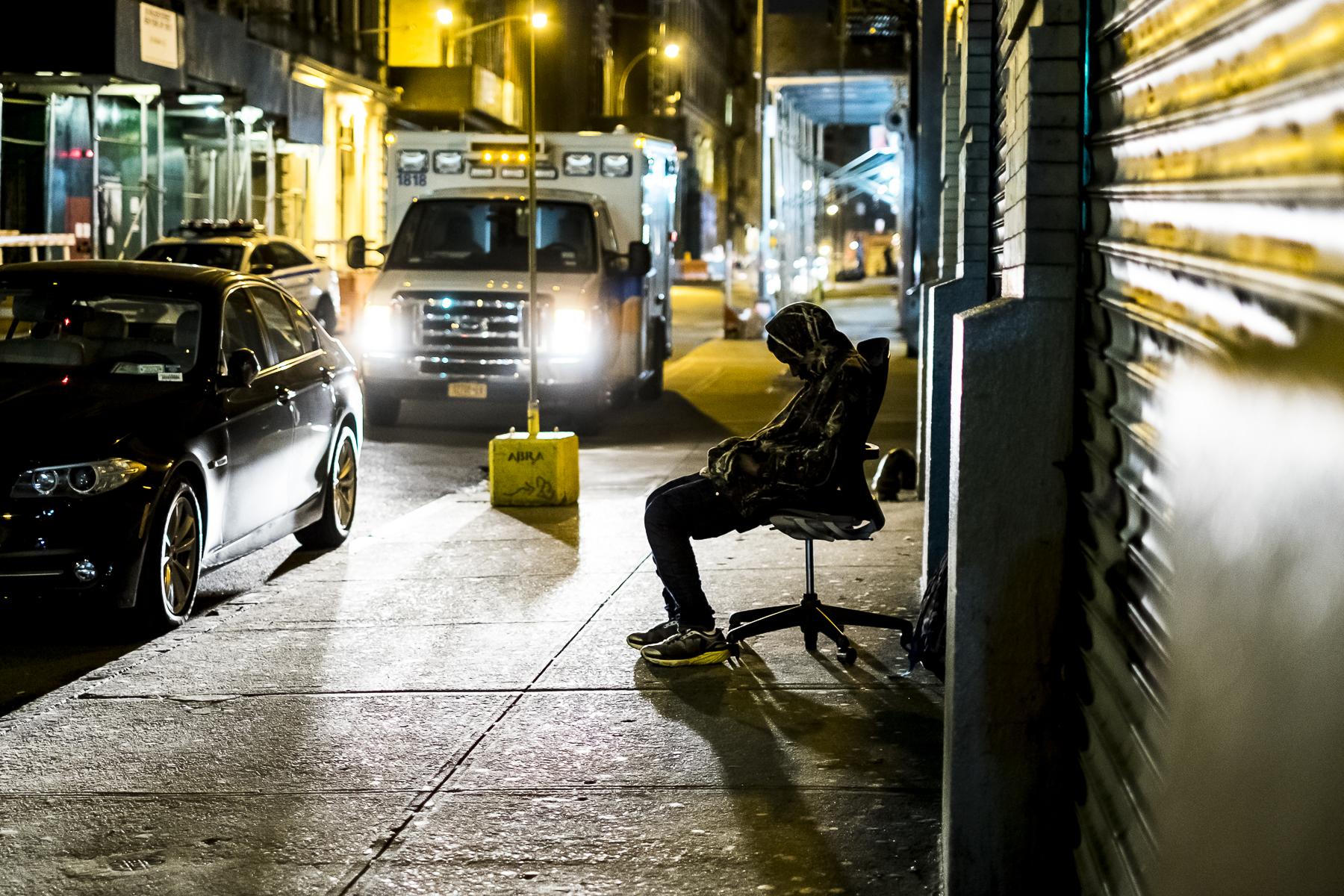 Streetphotography New York / Zaragoza Walkers
