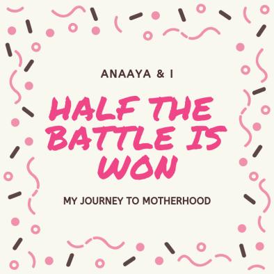 Blog 243 - Anaaya & I - 8 - Half the Battle is Won....png