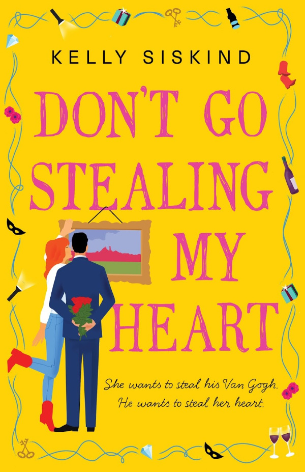 Don't Go Stealing My Heart Book Cover