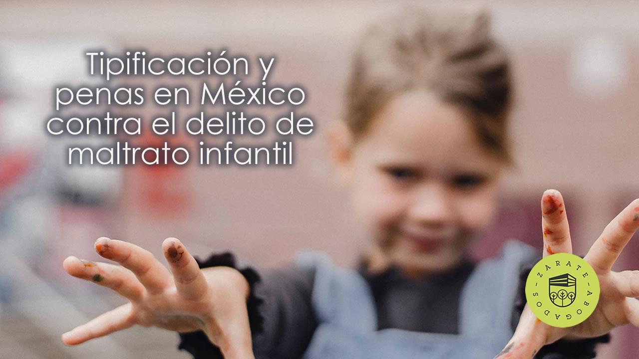 De todos los cargos por crímenes sexuales, los cargos por abuso sexual infantil probablemente sean los más serios. Tipificación y penas en México contra el delito de