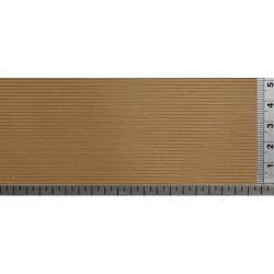 Lama de madera, Ref: 087LM112, color madera. Marca Redutex.