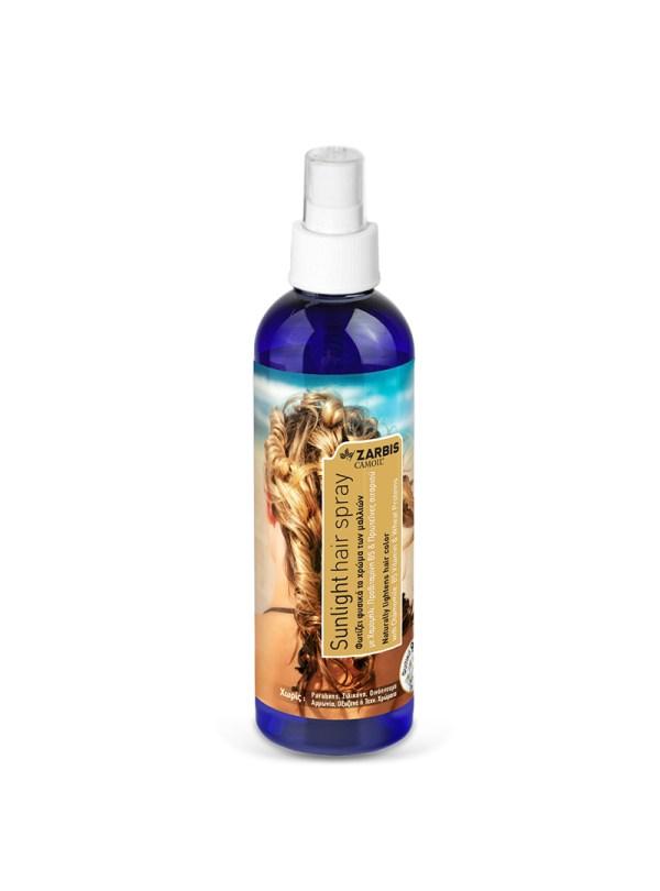 Sunlight Hairspray Zarbis & Johnz Pharmaceuticals