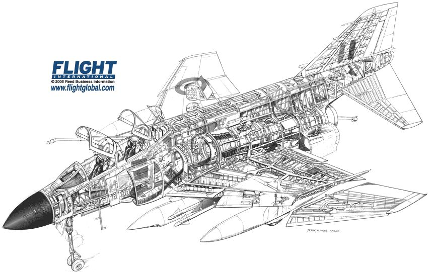 F 4 Phantom Fighter Schematics, F, Free Engine Image For