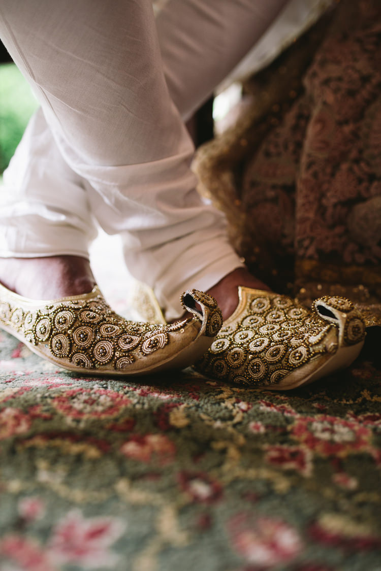 Indian grooms shoes
