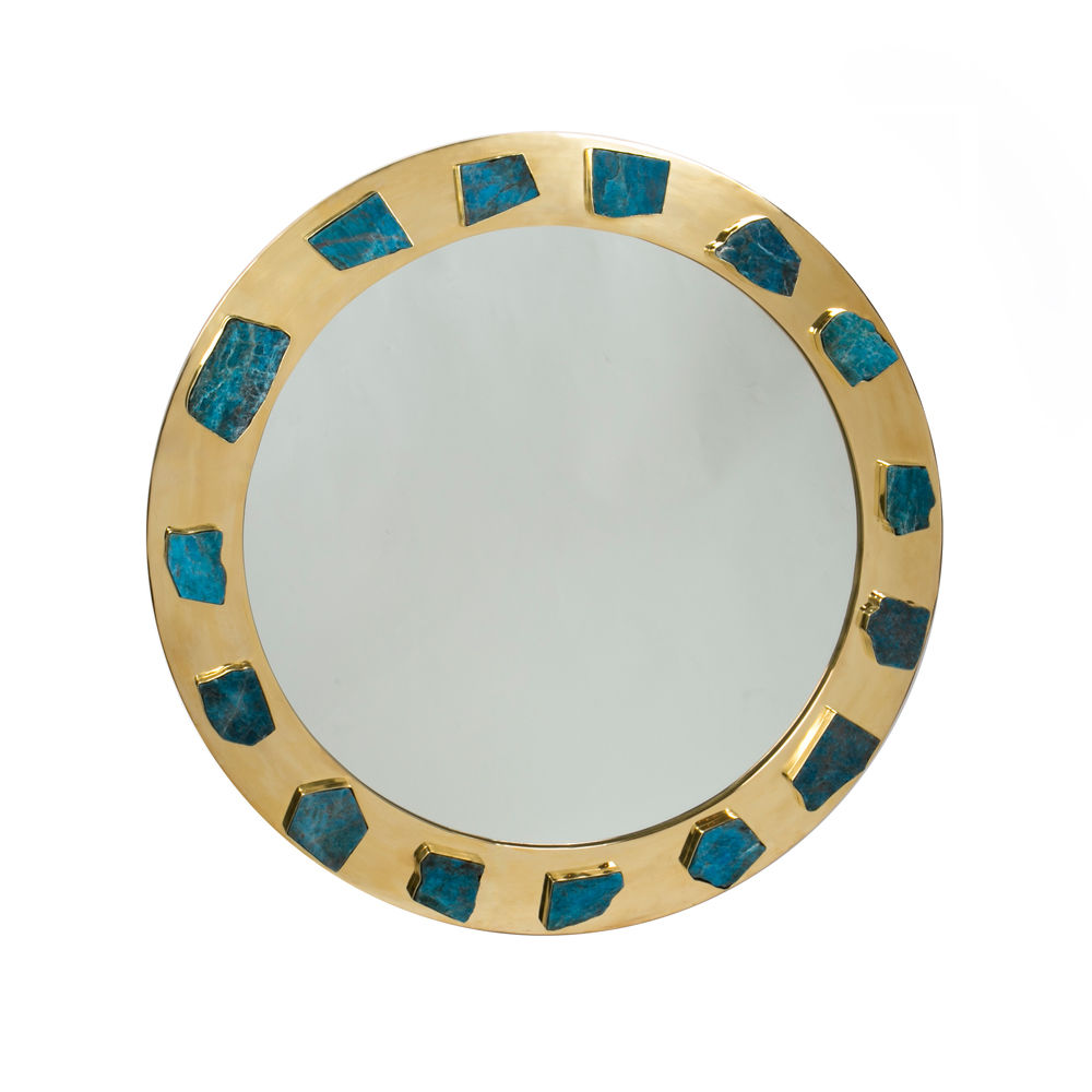 Kelly Wearstler Bejeweled Apatite Mirror