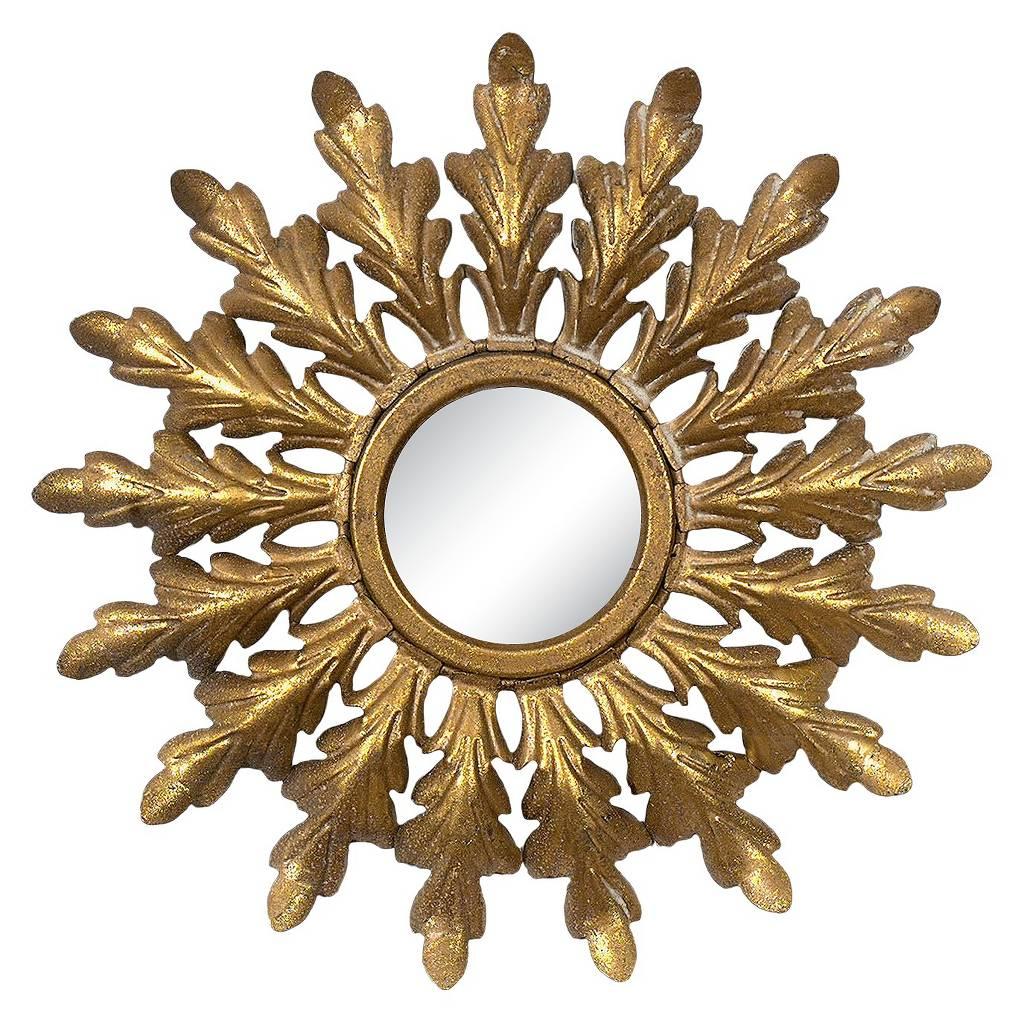 Target Framed Starburst Mirror