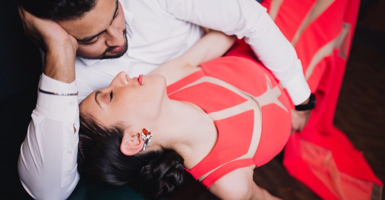 Gurpreet and Sabir's wedding on Zardozi Magazine