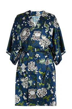 Adam Lippes Floral-print kimono jacket