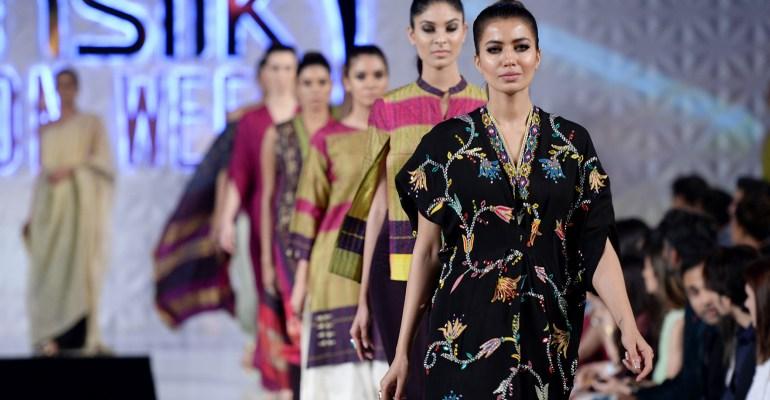 Kimonos at PFDC Sunsilk Fashion Week 2017