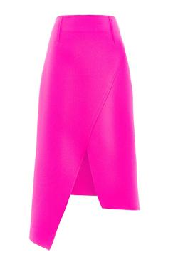 Topshop High Waisted Midi Wrap Skirt