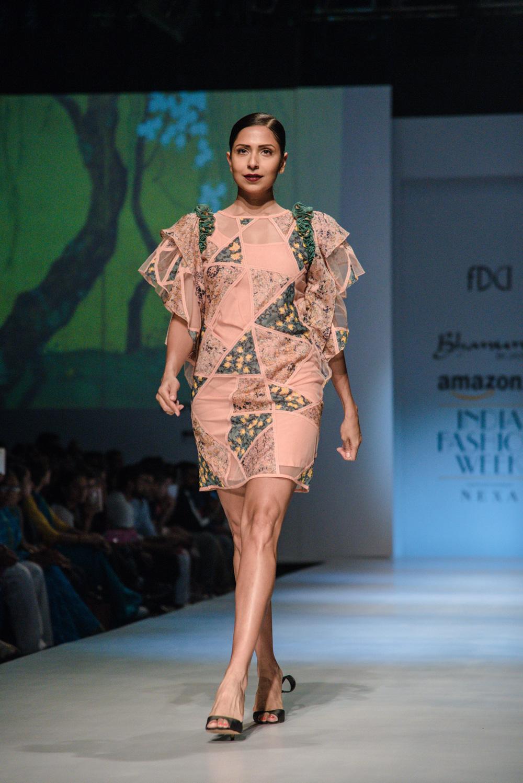 Bhanuni by Jyoti FDCI Amazon India Fashion Week Spring Summer 2018 Look 8