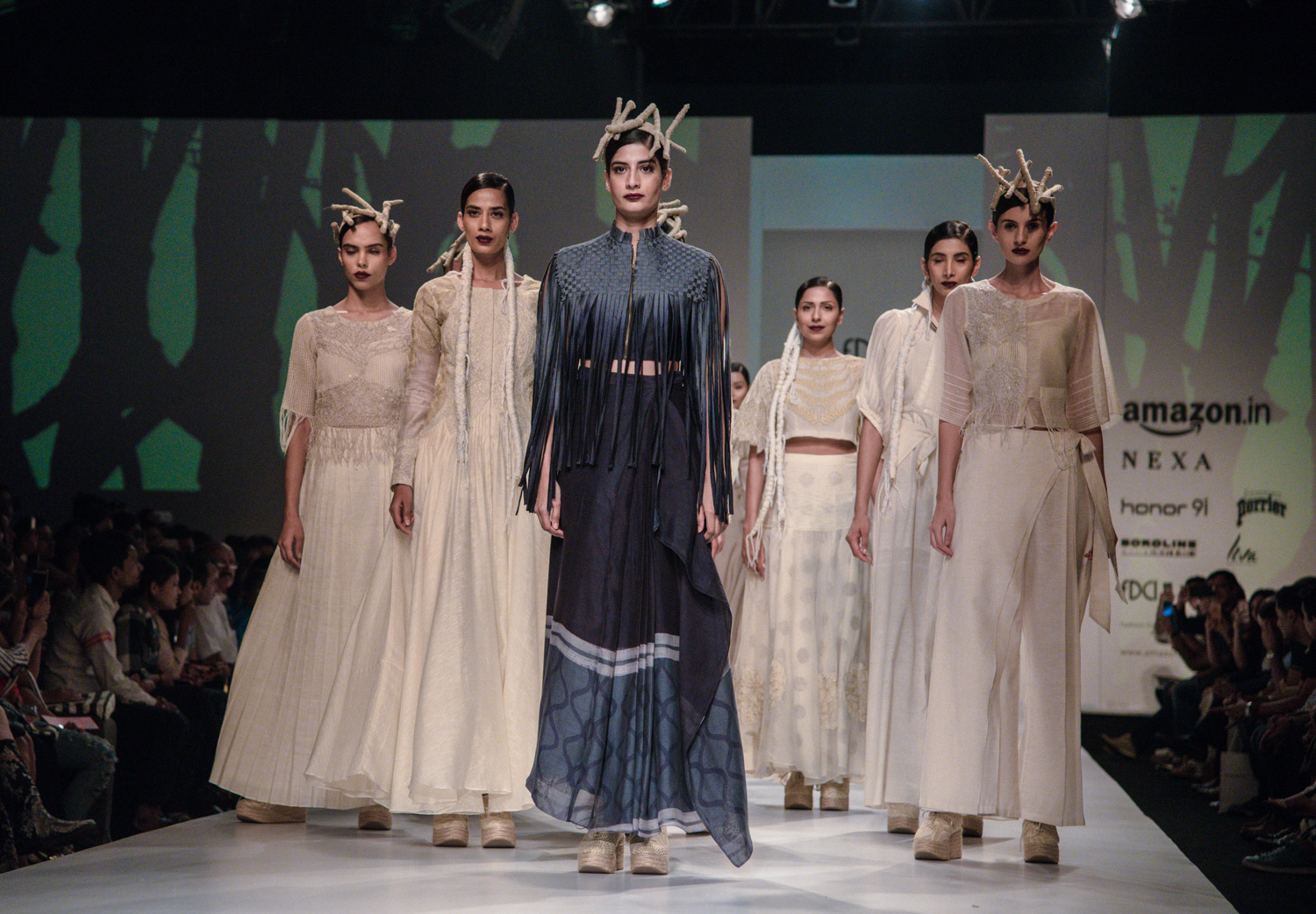 Ekru by Ektaa FDCI Amazon India Fashion Week Spring Summer 2018 Finale