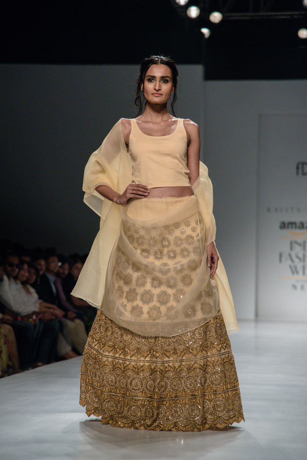 Kavita Bhartiya FDCI Amazon India Fashion Week Spring Summer 2018 Look 6