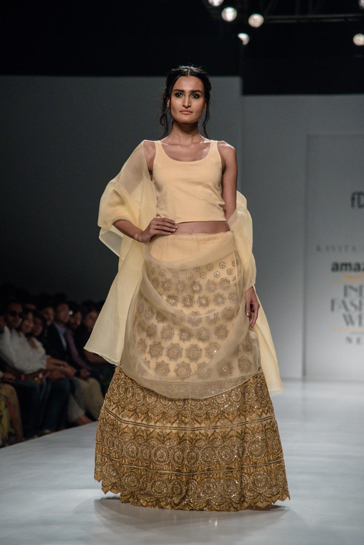 Kavita Bhartiya FDCI Amazon India Fashion Week Spring Summer 2018 Look 6