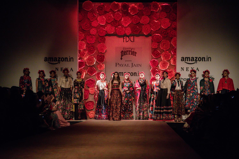 Payal Jain FDCI Amazon India Fashion Week Spring Summer 2018 Finale