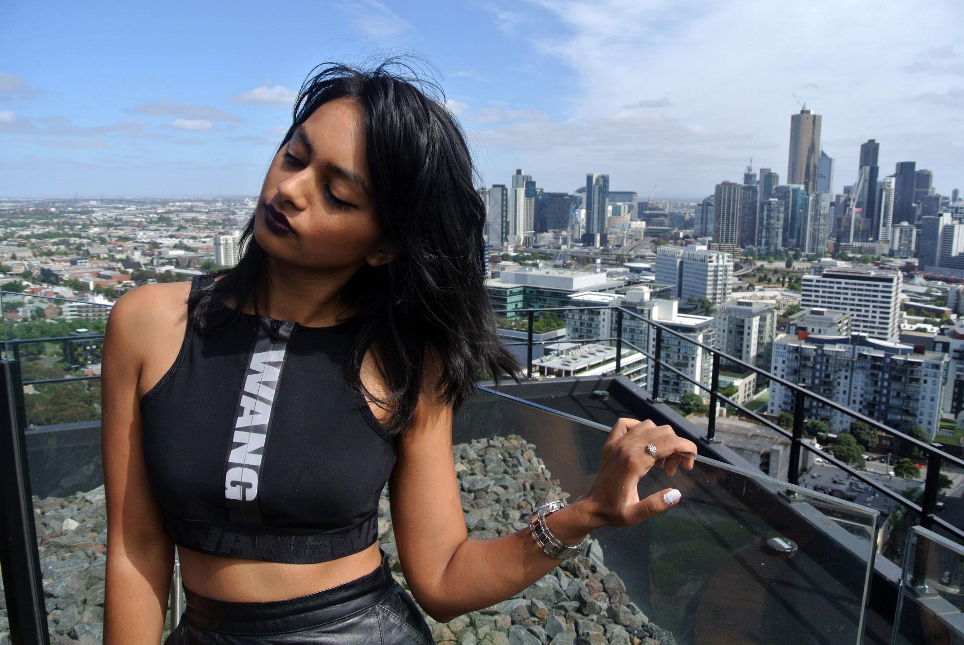Sophia Chowdhury Melbourne Rooftop
