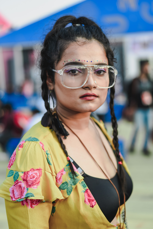 Blogger Jeysha Tripathi   Street Style Amazon India Fashion Week Spring Summer 2018; Photo by The Co Lab
