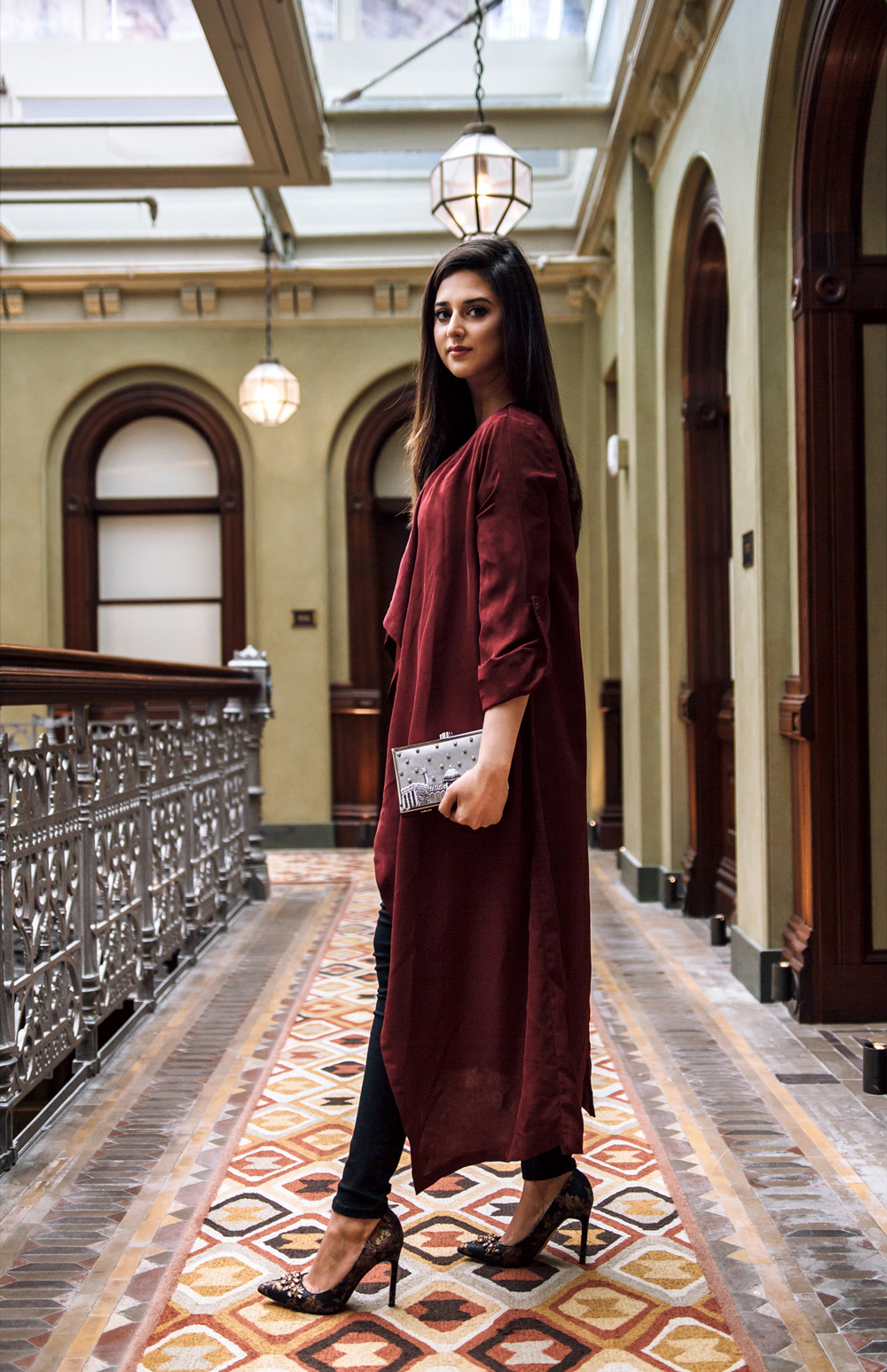 Handbag designer Minza Khan