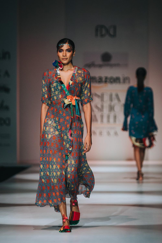 Anupamaa by Anupama Dayal FDCI Amazon India Fashion Week Spring Summer 2018 Look 6