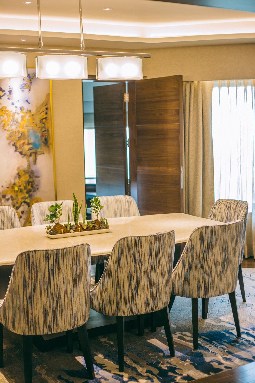 Shangri-la New Delhi Presidential Suite Dining Room