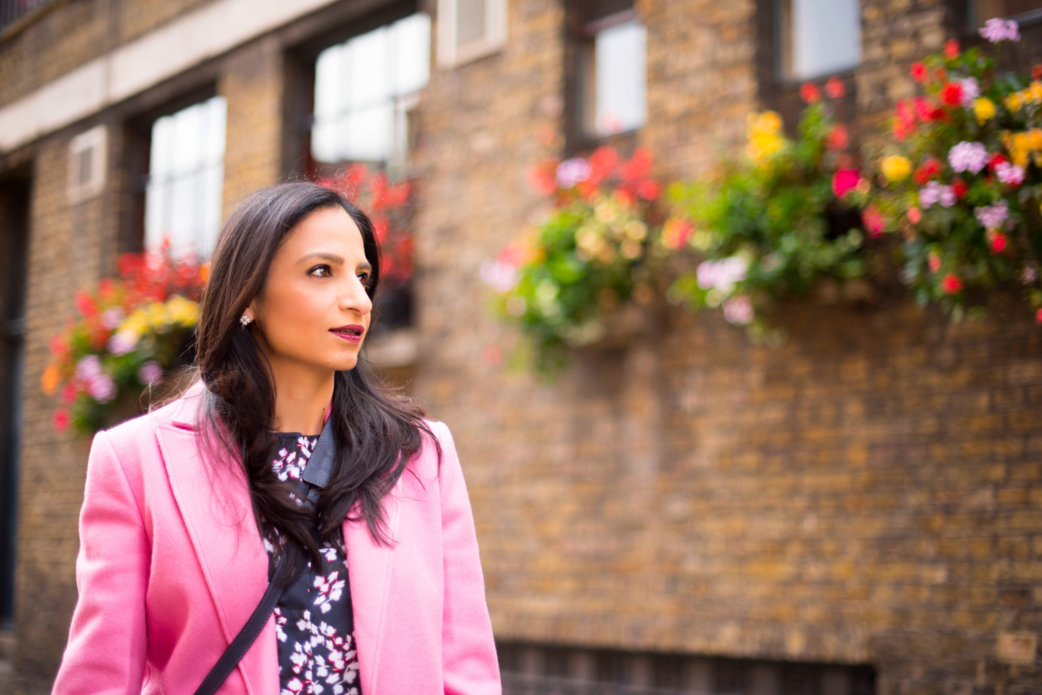 London Winter Style Tips: Colorful Coats; Isha's Verdict