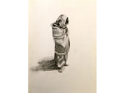 child-in-a-shawl