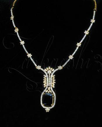 Stone CZ Necklace