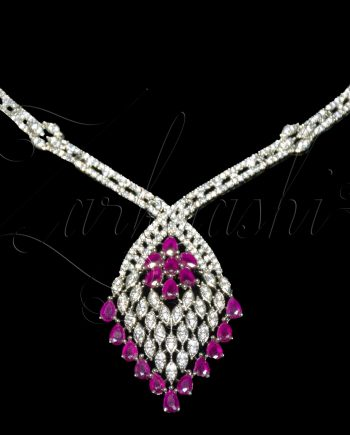 Ruby CZ Necklace