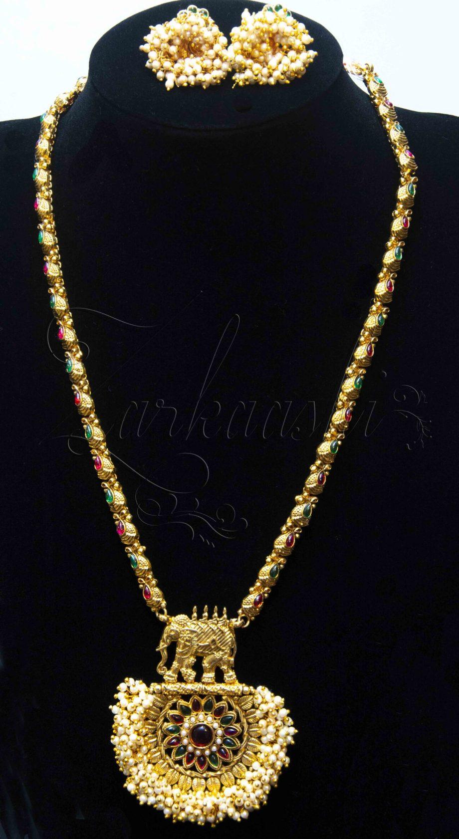 Antique Harem Necklace Set