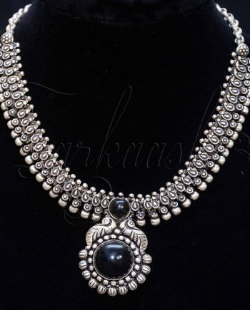Antique Oxidized Necklace