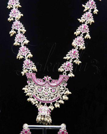 Antique Oxidized Harem Necklace