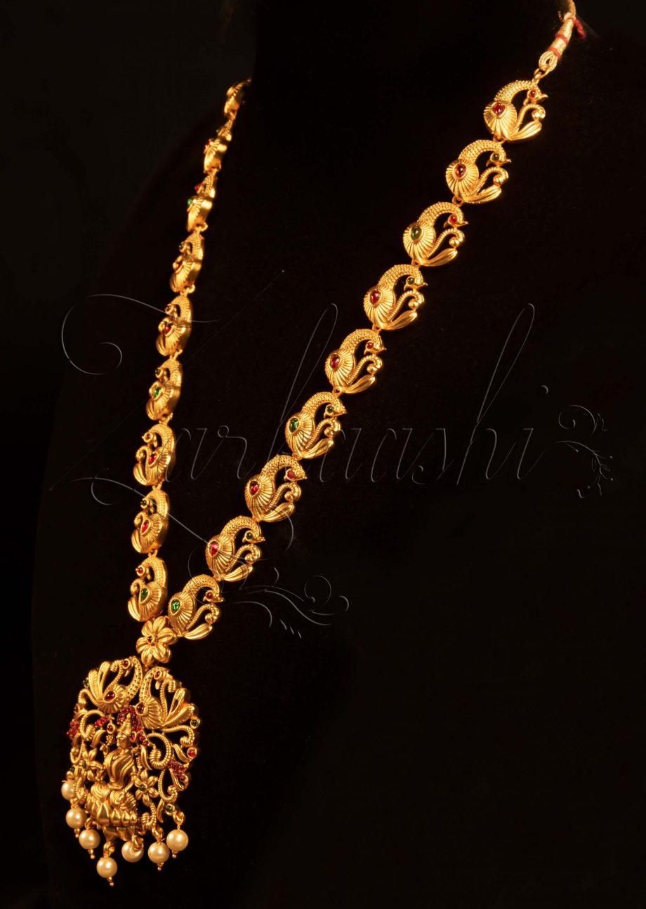Temple Necklace Set