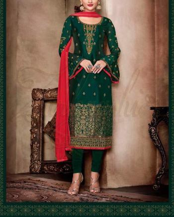 Pure Bangalori Silk Suit