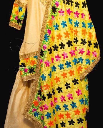 Best Chanderi Silk Garara Suit