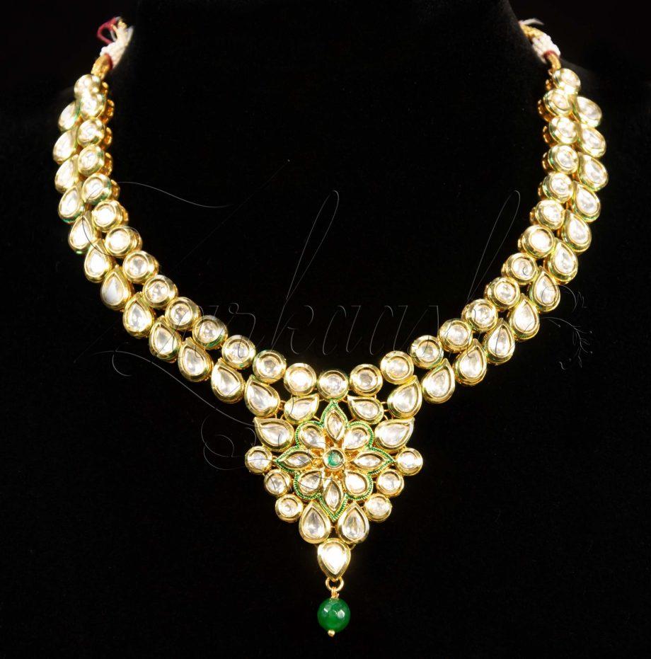 Best Kundan Meenakari Necklace