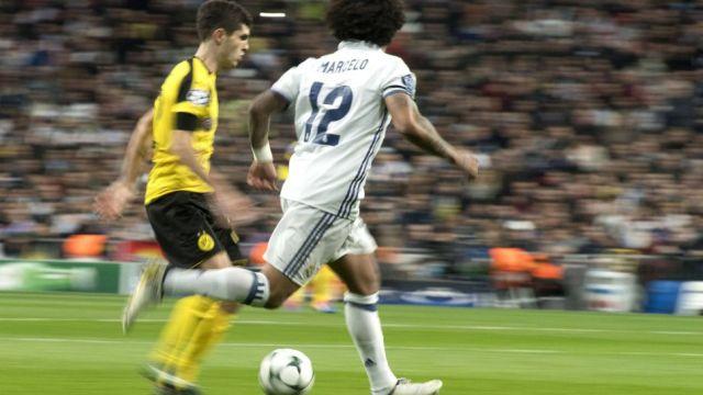 Borussia Dortmund vs Real Madrid UEFA