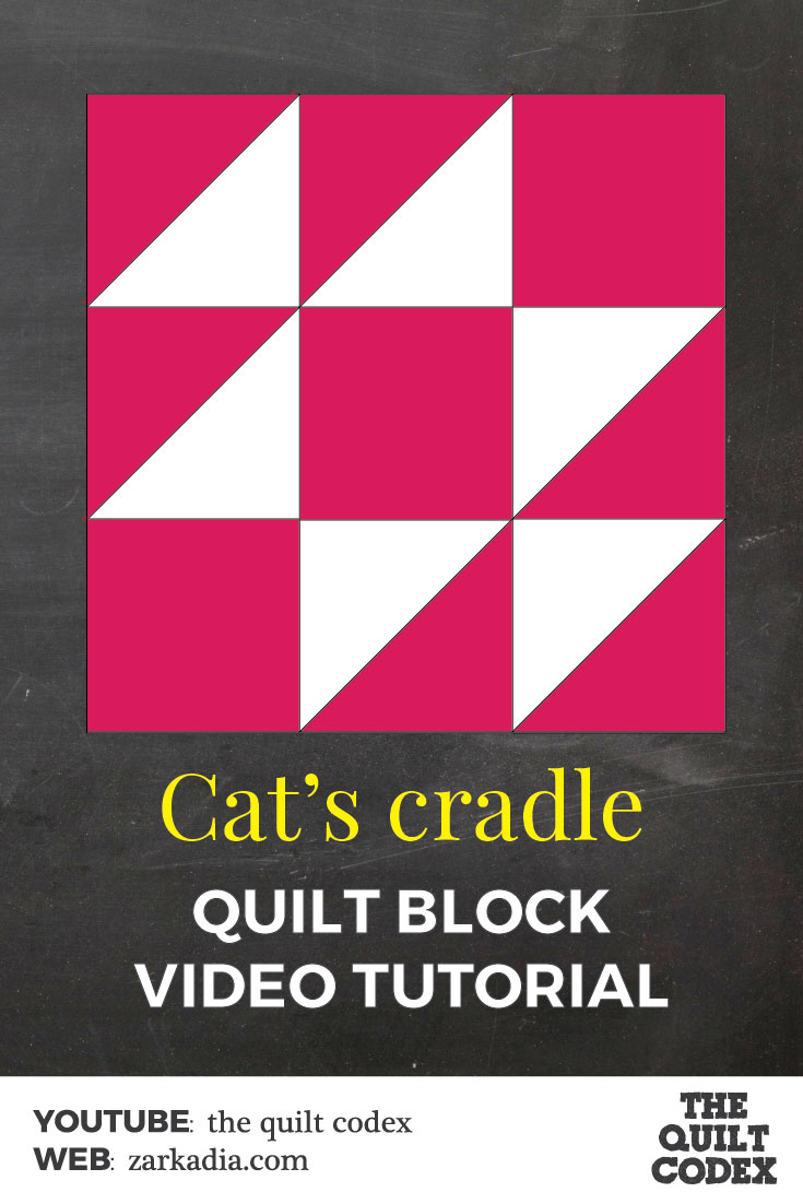 Cat's cradle quilt block